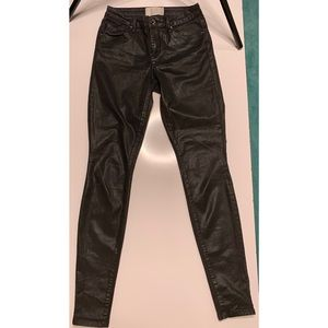 Rachel Roy HighWaisted distressed black jeans 26